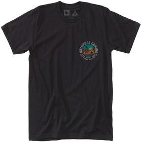 Hippy Tree Headland - T-shirt manches courtes Homme - noir